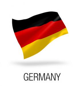 firma w niemczech - flaga